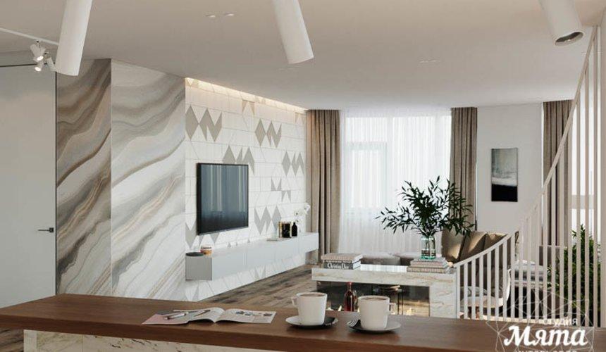 Дизайн интерьера трехкомнатной квартиры в ЖК Чемпион Парк 3