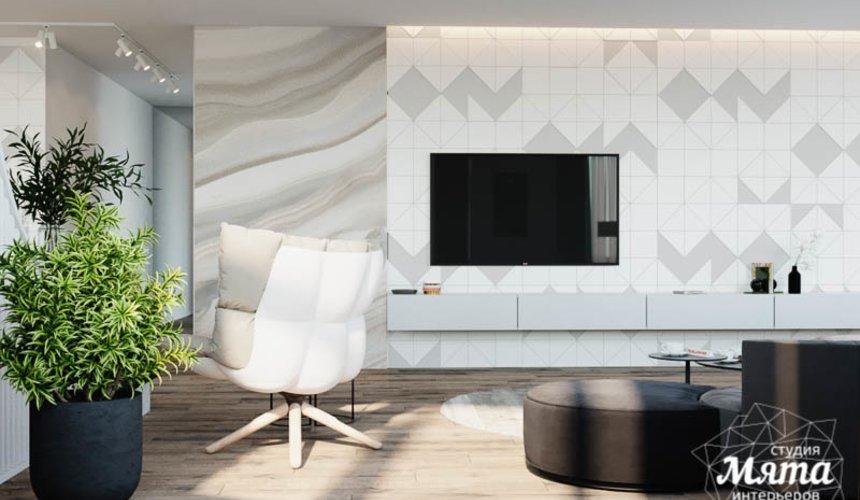 Дизайн интерьера трехкомнатной квартиры в ЖК Чемпион Парк 4