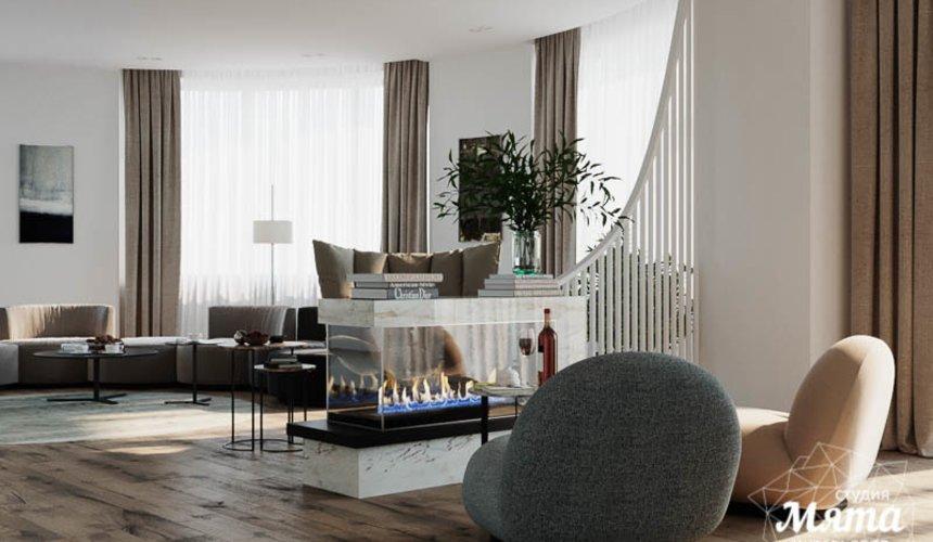Дизайн интерьера трехкомнатной квартиры в ЖК Чемпион Парк 6