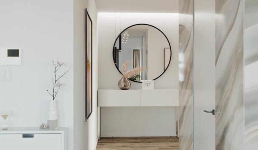 Дизайн интерьера трехкомнатной квартиры в ЖК Чемпион Парк 10