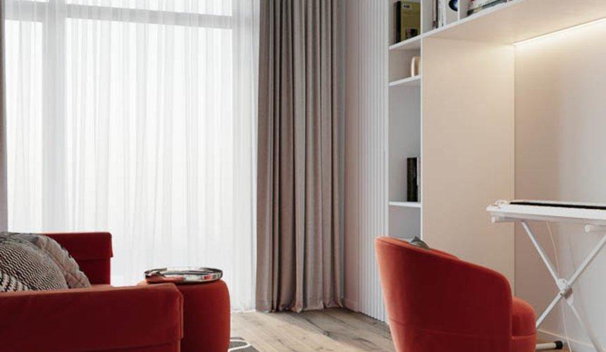 Дизайн интерьера трехкомнатной квартиры в ЖК Чемпион Парк 11