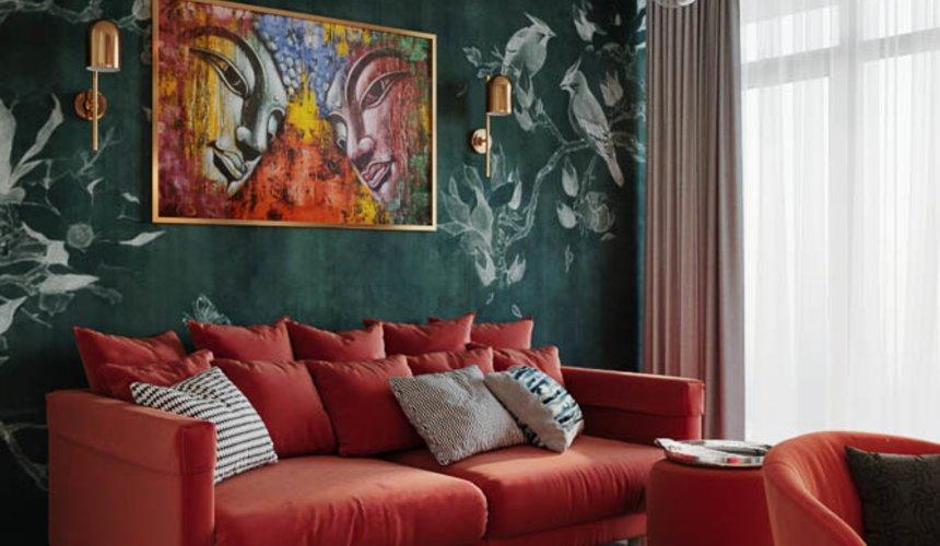 Дизайн интерьера трехкомнатной квартиры в ЖК Чемпион Парк 12