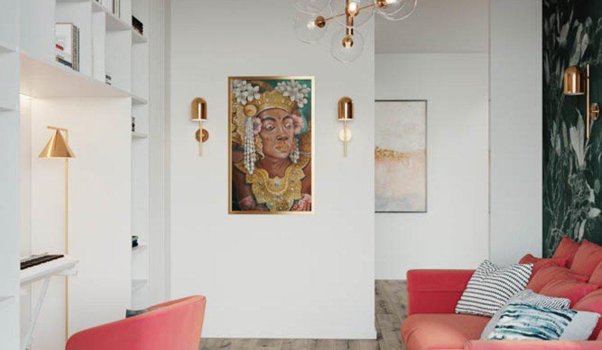 Дизайн интерьера трехкомнатной квартиры в ЖК Чемпион Парк 13