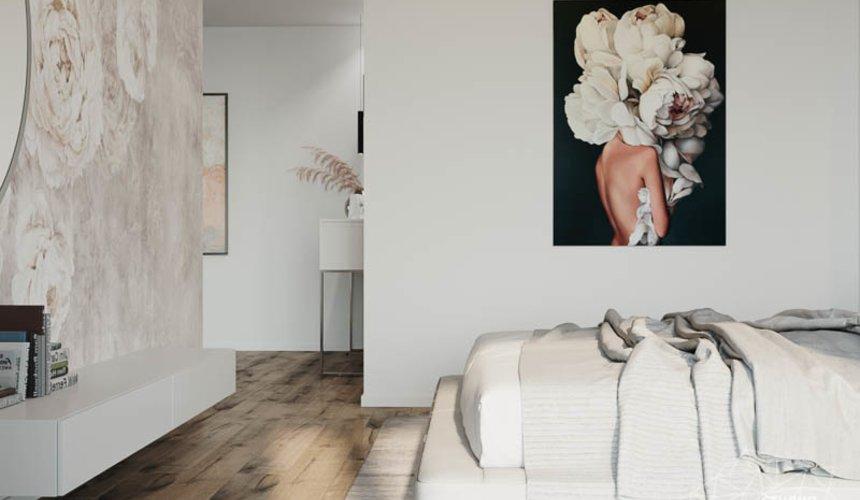 Дизайн интерьера трехкомнатной квартиры в ЖК Чемпион Парк 25