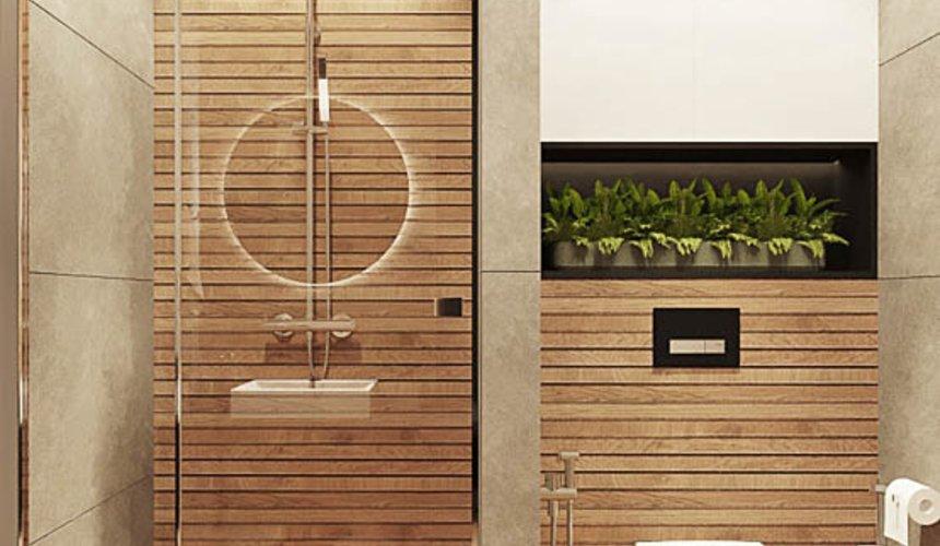 Дизайн интерьера квартиры - студии в ЖК Гринвуд 18