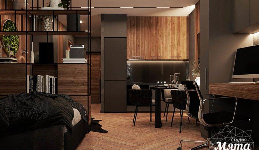 Дизайн интерьера квартиры - студии в ЖК Гринвуд 5