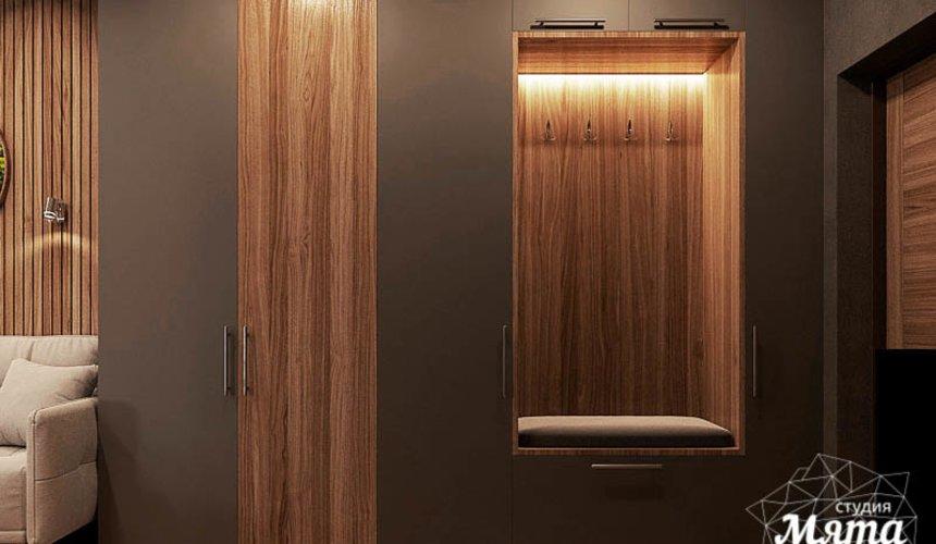 Дизайн интерьера квартиры - студии в ЖК Гринвуд 8