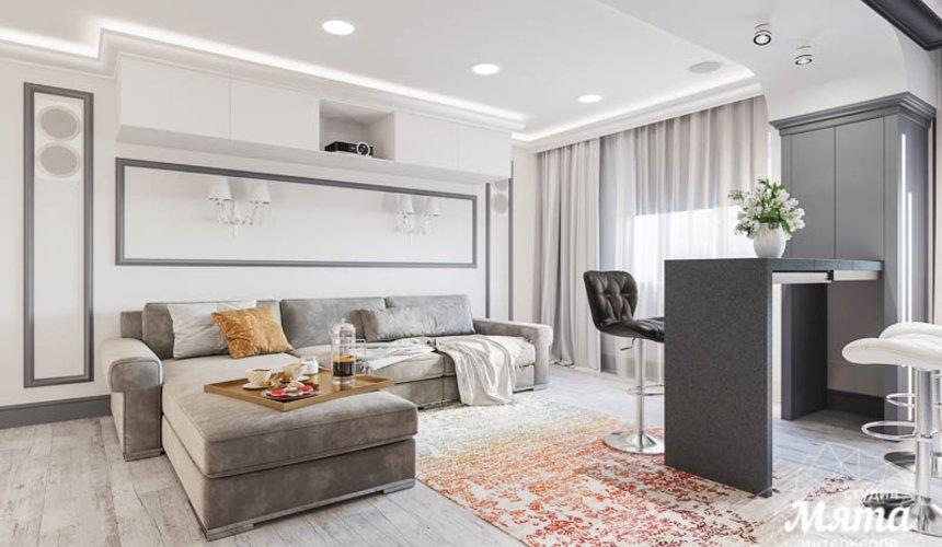 Дизайн интерьера домашнего кинотеатра в коттедже п. Кашино 4