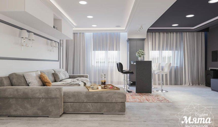 Дизайн интерьера домашнего кинотеатра в коттедже п. Кашино 5