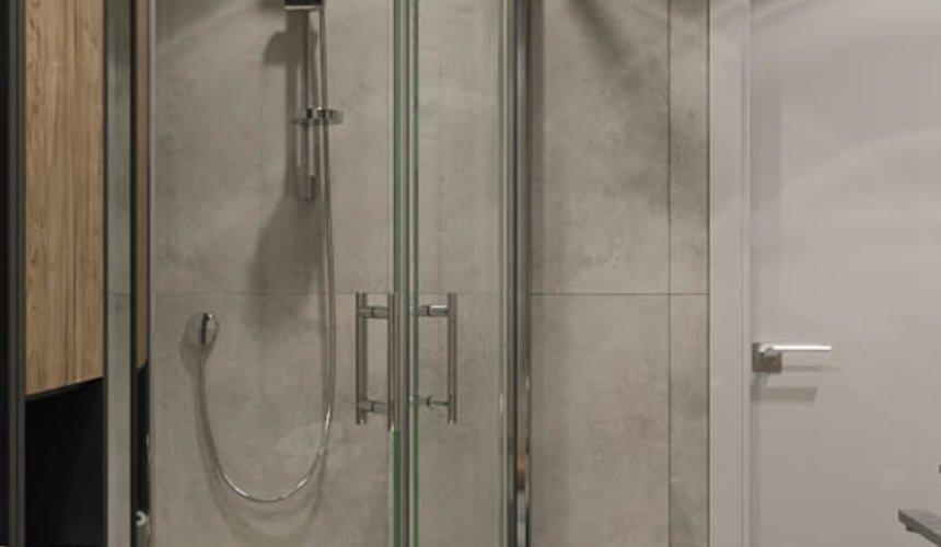 Дизайн интерьера двухкомнатной квартиры в ЖК Репин Парк 16