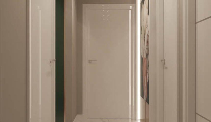 Дизайн интерьера двухкомнатной квартиры в ЖК Репин Парк 22