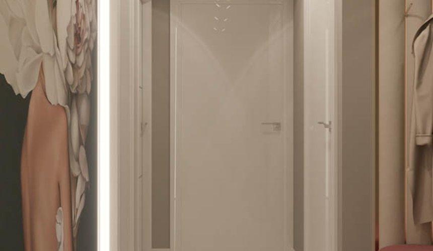 Дизайн интерьера двухкомнатной квартиры в ЖК Репин Парк 23