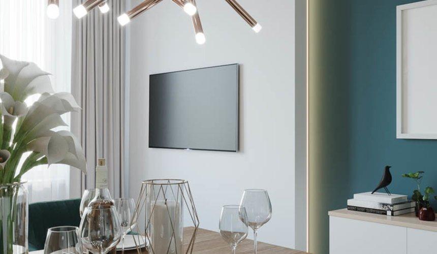 Дизайн интерьера двухкомнатной квартиры в ЖК Репин Парк 8