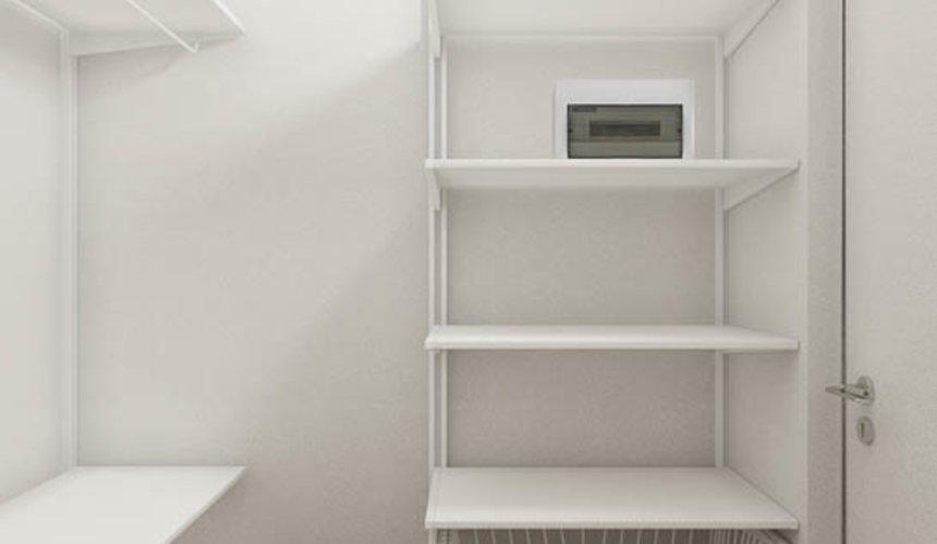 Дизайн интерьера квартиры - студии в ЖК Стрелки 11