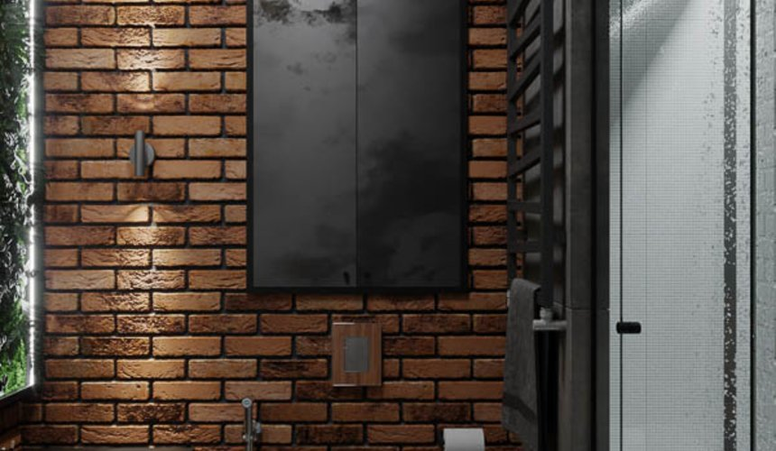 Дизайн интерьера квартиры в стиле лофт 7