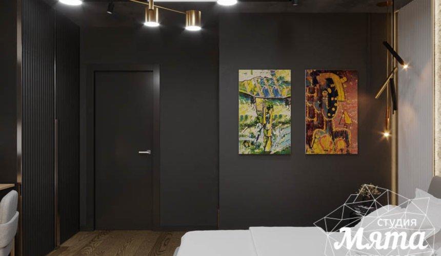 Дизайн интерьера квартиры в стиле лофт 14