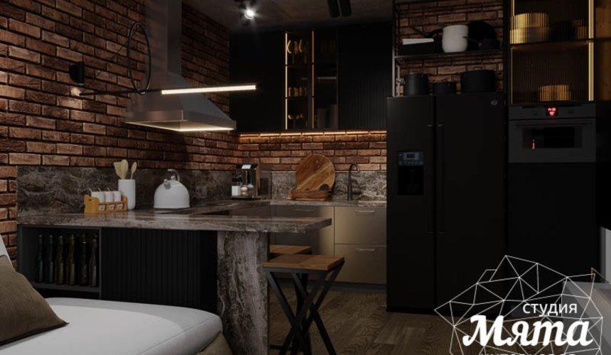 Дизайн интерьера квартиры в стиле лофт 16
