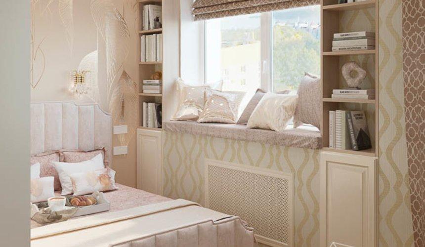 Дизайн интерьера однокомнатной квартиры, ул.Рощинская  3