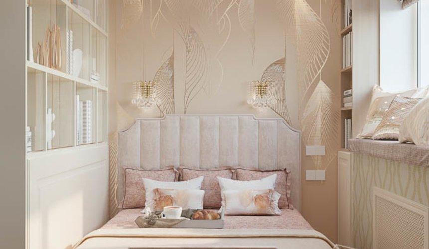 Дизайн интерьера однокомнатной квартиры, ул.Рощинская  4