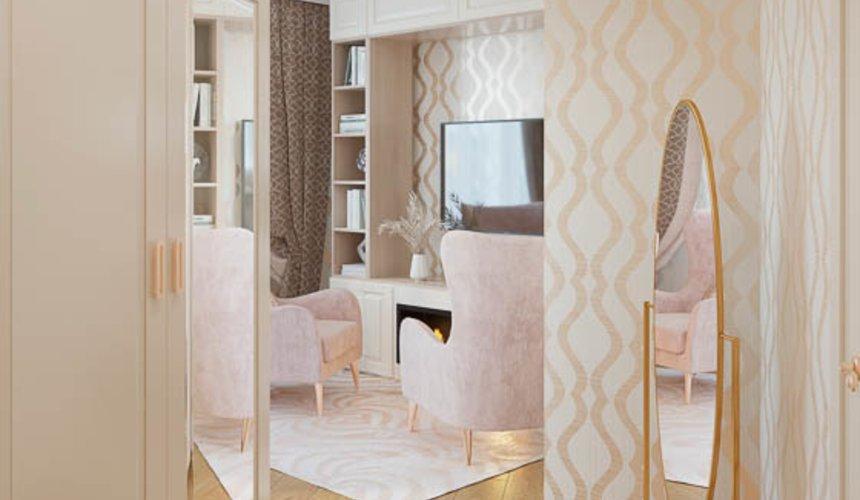 Дизайн интерьера однокомнатной квартиры, ул.Рощинская  7