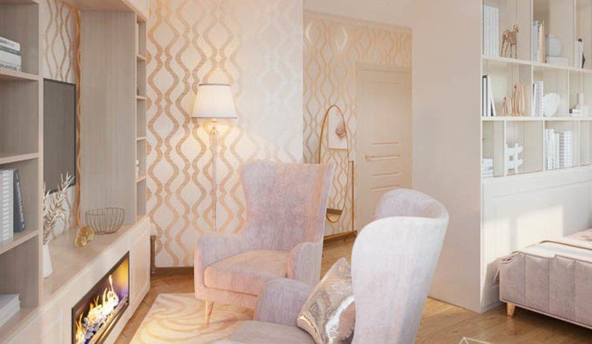 Дизайн интерьера однокомнатной квартиры, ул.Рощинская  8