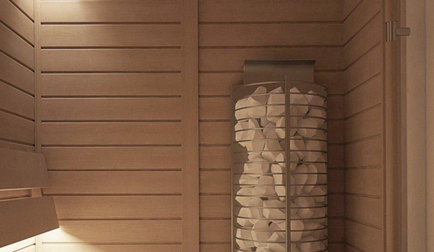 Дизайн интерьера трехкомнатной квартиры в ЖК Клевер Парк 25