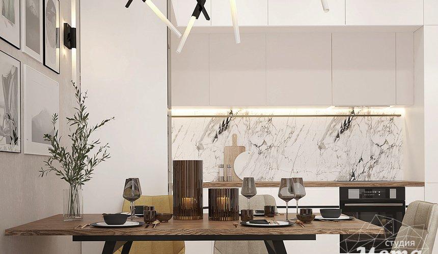 Дизайн интерьера трехкомнатной квартиры в ЖК Клевер Парк 9