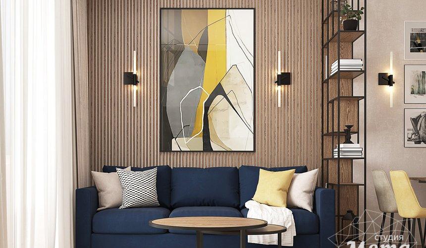 Дизайн интерьера трехкомнатной квартиры в ЖК Клевер Парк 11
