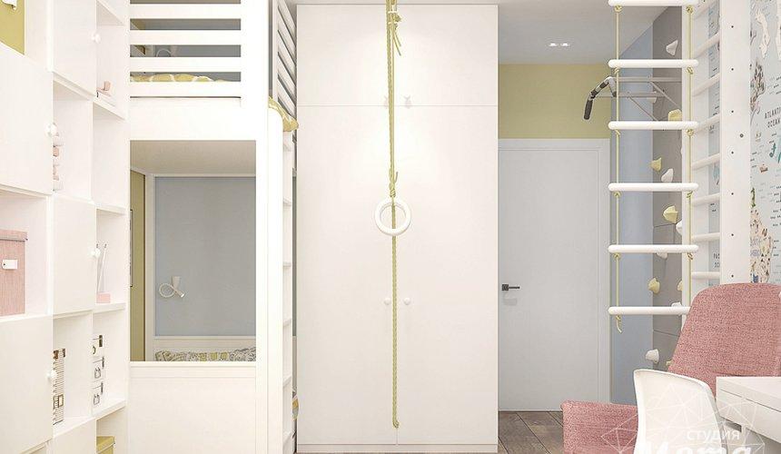 Дизайн интерьера трехкомнатной квартиры в ЖК Клевер Парк 13