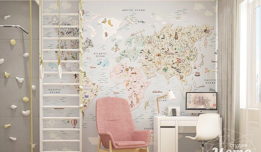 Дизайн интерьера трехкомнатной квартиры в ЖК Клевер Парк 14
