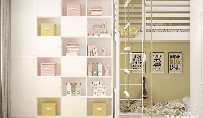 Дизайн интерьера трехкомнатной квартиры в ЖК Клевер Парк 5