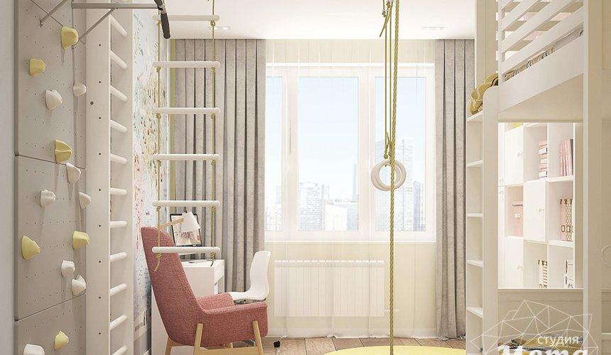 Дизайн интерьера трехкомнатной квартиры в ЖК Клевер Парк 15