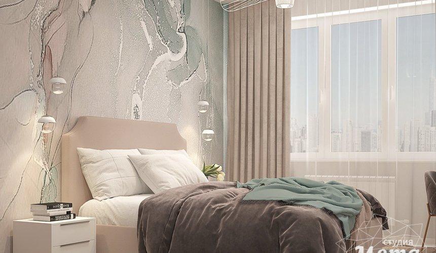 Дизайн интерьера трехкомнатной квартиры в ЖК Клевер Парк 17