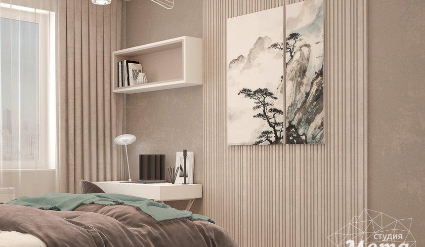 Дизайн интерьера трехкомнатной квартиры в ЖК Клевер Парк 18