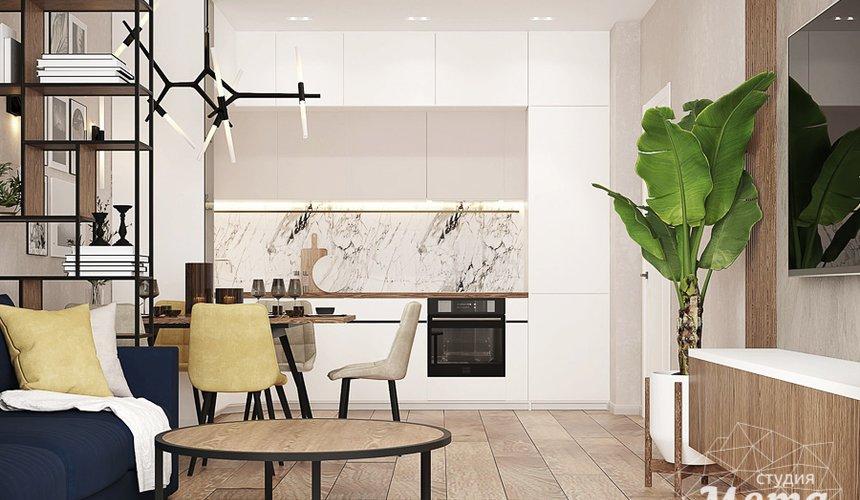 Дизайн интерьера трехкомнатной квартиры в ЖК Клевер Парк 6